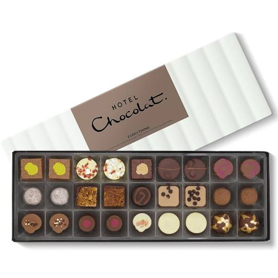 Hotel Chocolat Everything Selection Chocolate Box Sleekster
