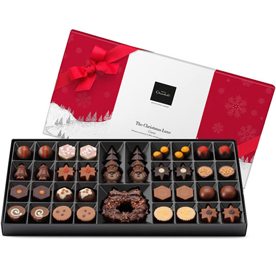 Hotel Chocolat Extra Large Christmas Chocolate Box