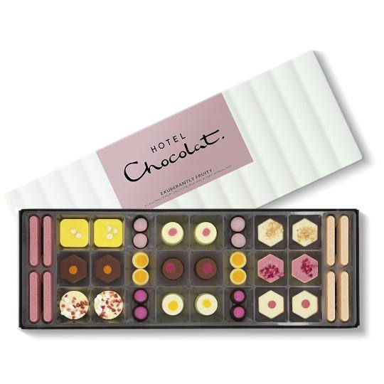 Hotel Chocolat Exuberantly Fruity Chocolate Box