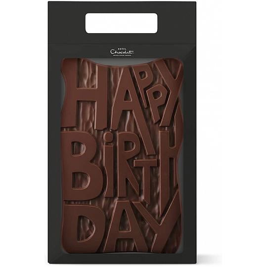 Hotel Chocolat Happy Birthday Giant Chocolate Slab