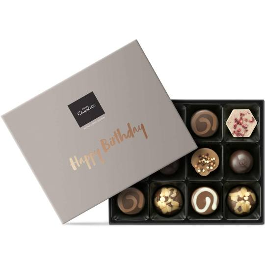 Hotel Chocolat The Happy Birthday Chocolate Box