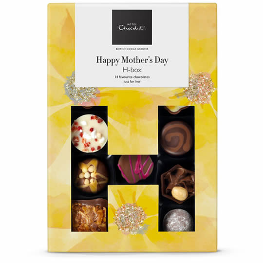 Hotel Chocolat Happy Mother's Day H-Box Chocolate Box