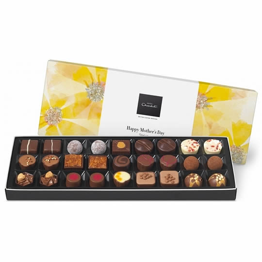 Hotel Chocolat Happy Mother's Day Sleekster Chocolate Box