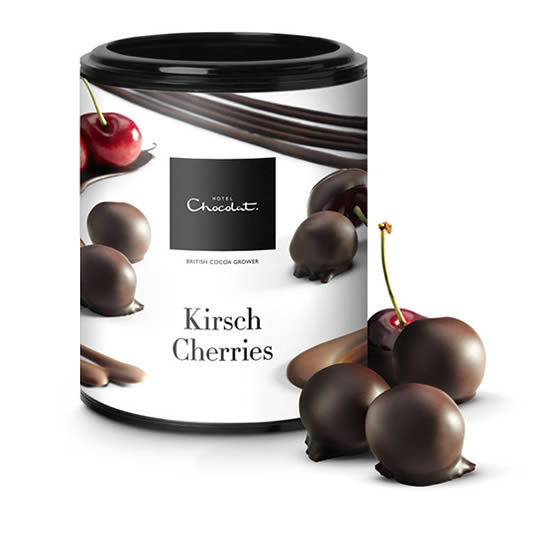 Hotel Chocolat - Kirsch Cherries - Enrobed Fruit