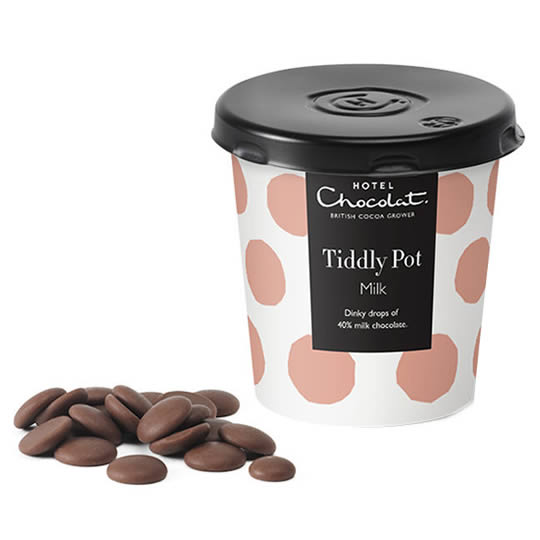 Hotel Chocolat Milk Chocolate Buttons Tiddly Pot