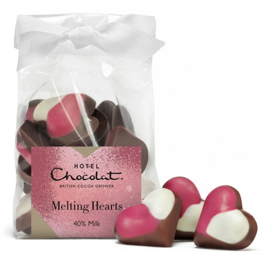 Hotel Chocolat Milk Chocolate Hearts