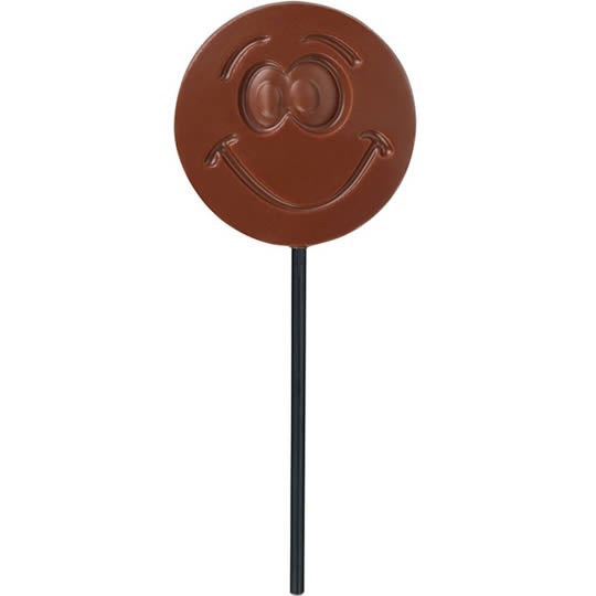 Hotel Chocolat Milk Chocolate Smiley Lollipop