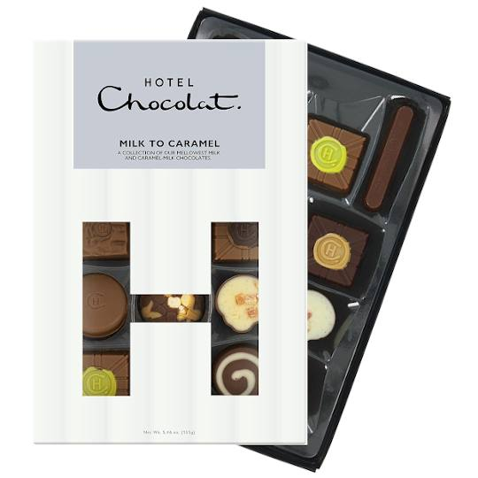 Hotel Chocolat Milk to Caramel Chocolate H-Box
