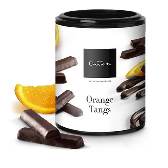 Hotel Chocolat Orange Tangs Covered in Chocolate