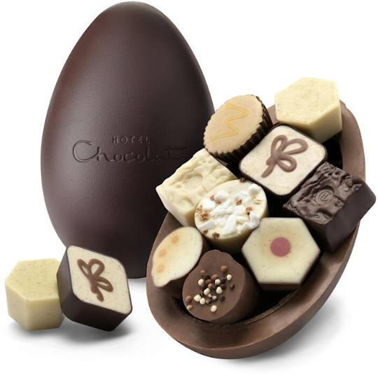 Hotel Chocolat Extra Thick Chocolate Patisserie Easter Egg
