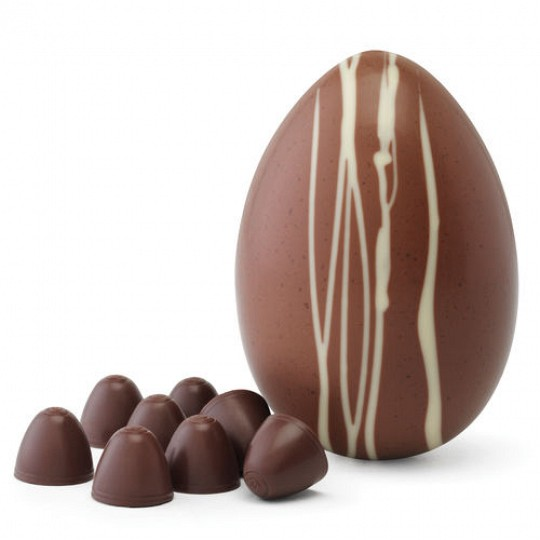 Hotel Chocolat Salted Caramel Hard-Boiled Chocolate Easter Egg