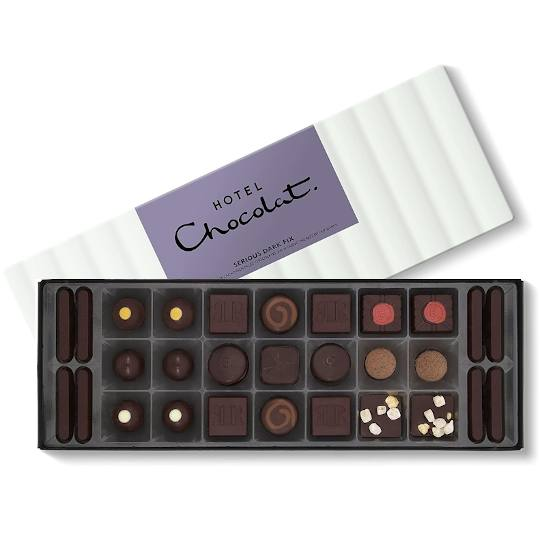 Hotel Chocolat Dark Chocolate Chocolate Box