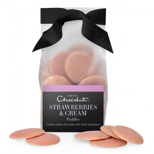 Hotel Chocolat Strawberries & Cream Chocolate Puddles