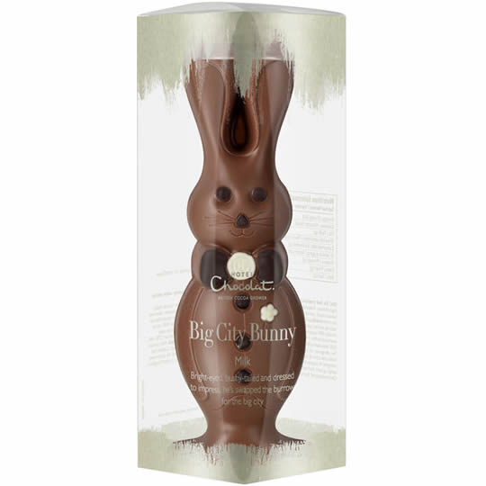 Hotel Chocolat The Big City Milk Chocolate Bunny