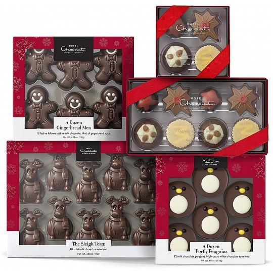 Hotel Chocolat The Chocolate Stocking Fillers Collection