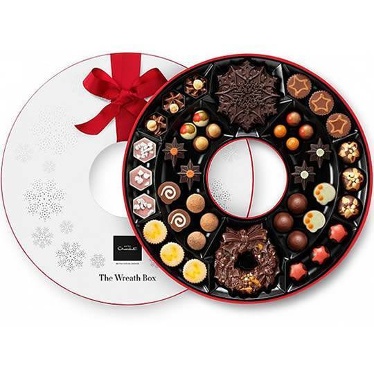 Hotel Chocolat The Christmas Wreath Chocolate Box