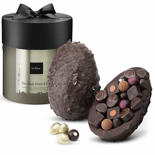 Hotel Chocolat The Dark Chocolate Giant Ostrich Easter Egg