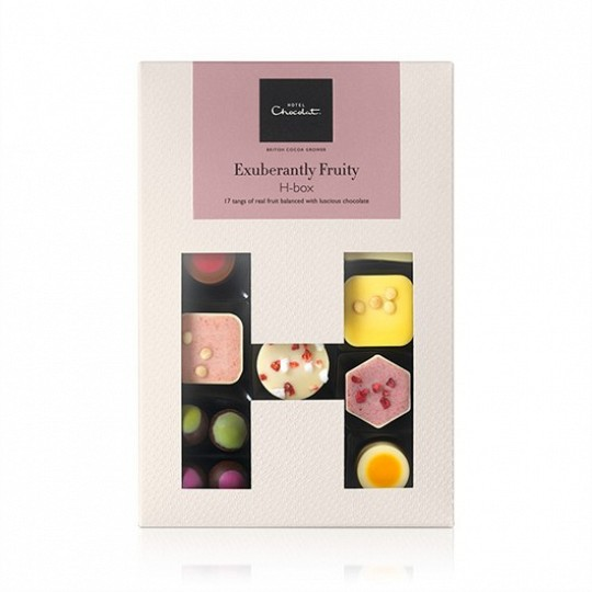 Hotel Chocolat Fruity Chocolate H-Box