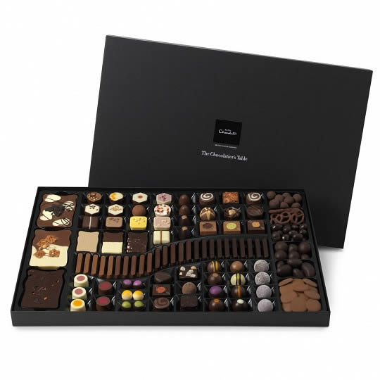 Hotel Chocolat The Large Chocolatier´s Table Luxury Chocolate Box