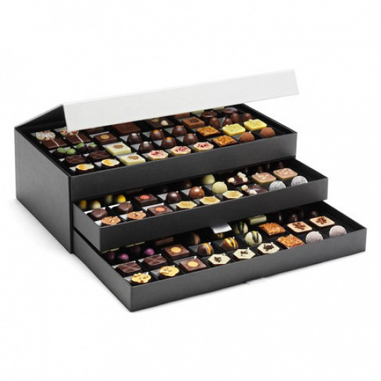 Hotel Chocolat The Signature Cabinet Luxury Chocolate Box