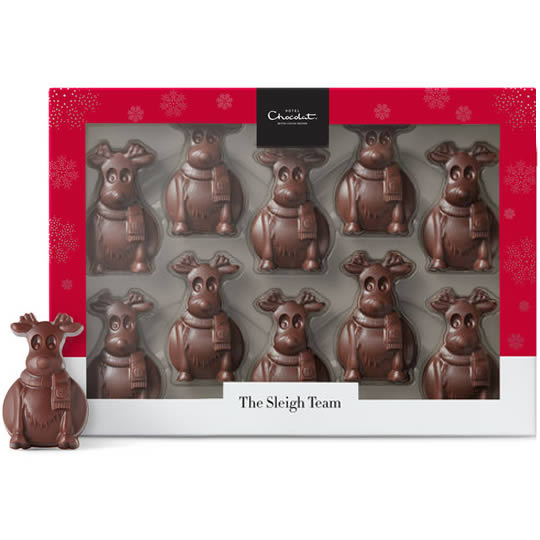 Hotel Chocolat Tiddly Tiddly Milk Chocolate Reindeers