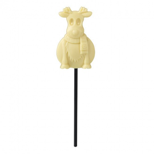 Hotel Chocolat White Chocolate Reindeer Lolly