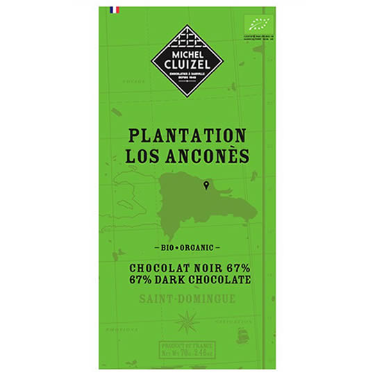 Michel Cluizel Los Ancones 67% Cocoa Dark Chocolate Bar