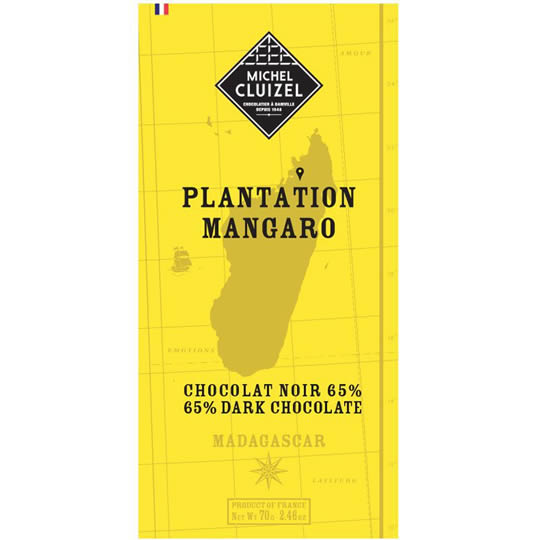 Michel Cluizel Mangaro 65% Cocoa Single Origin Dark Chocolate Bar