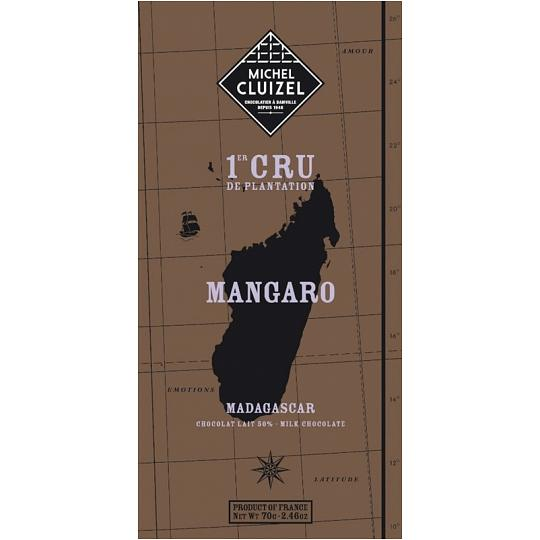 Michel Cluizel Mangaro Lait 50% Cocoa Milk Chocolate Bar