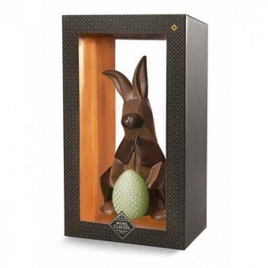 Michel Cluizel Chocolate Boxed Origami Milk Chocolate Easter Bunny