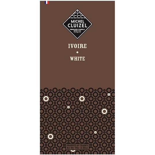 Michel Cluizel Chocolate Ivoire White Chocolate Bar