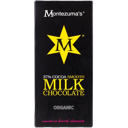 Montezuma's 37% Cocoa Smooth Milk Chocolate Bar 100g