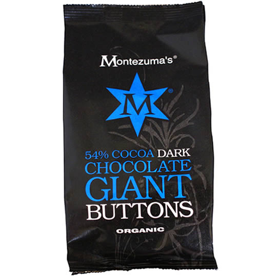 Montezuma's 54% Cocoa Dark Chocolate Giant Chocolate Buttons