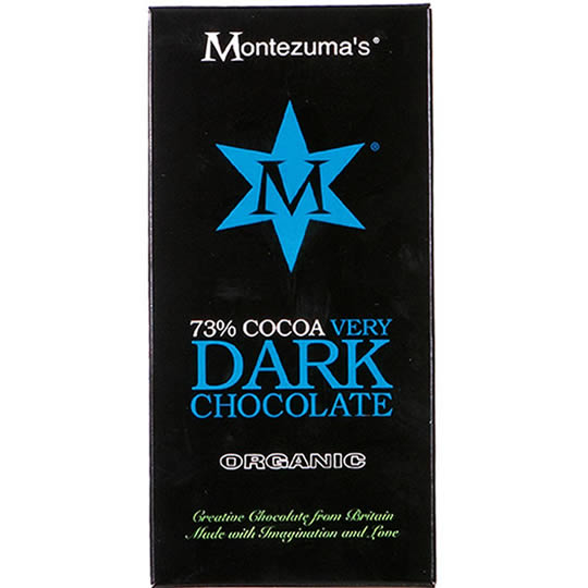 Montezuma's 73% Cocoa Very Dark Chocolate Bar