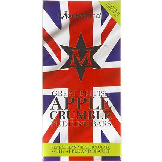Montezuma's Apple Crumble Great British Pudding Bar 100g