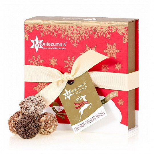 Montezuma's Christmas Chocolate Truffle Collection
