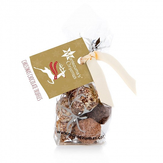 Montezuma's Bag of Christmas Chocolate Truffles