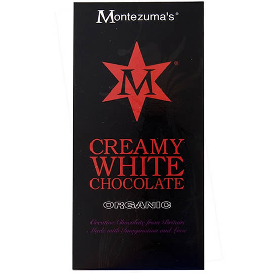 Montezuma's Creamy White Chocolate Bar