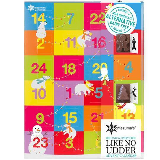 Montezuma's Dairy Free Milk Chocolate Advent Calendar
