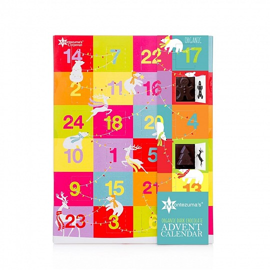 Montezuma's Chocolate Dark Chocolate Advent Calendar