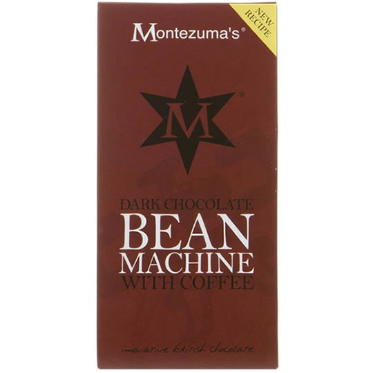 Montezuma's Bean Machine Chocolate Bar