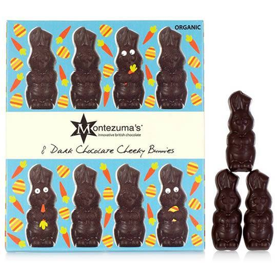 Montezuma's Dark Chocolate Cheeky Chocolate Bunnies