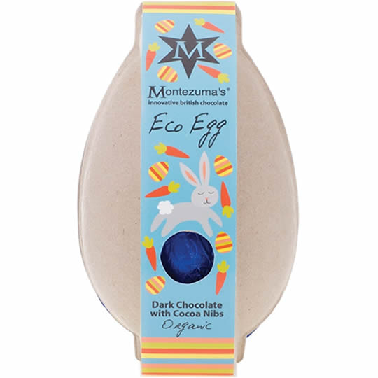 Montezuma's Dark Chocolate with Cocoa Nibs Eco Egg