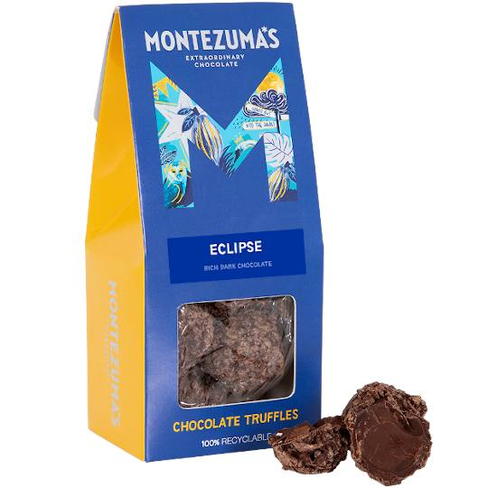 Montezuma's Dominican Republic: Eclipse Dark Chocolate Truffles