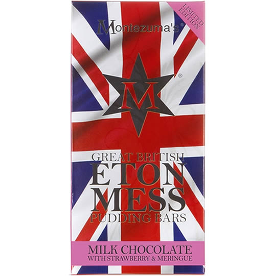 Montezuma's Eton Mess Chocolate Pudding Bar