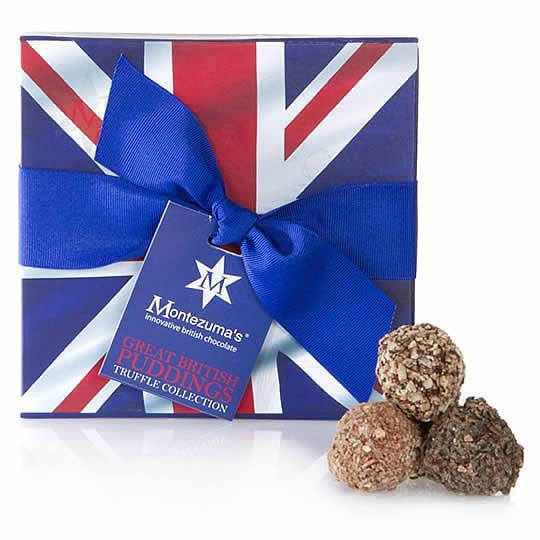 Montezuma's Great British Pudding Chocolate Truffles