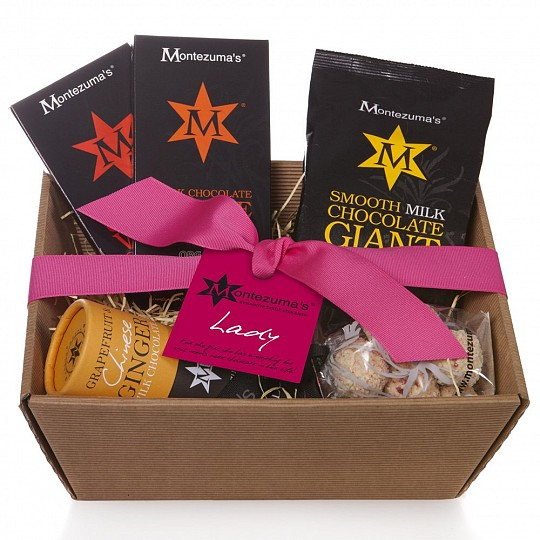 Montezuma's Lady Chocolate Hamper