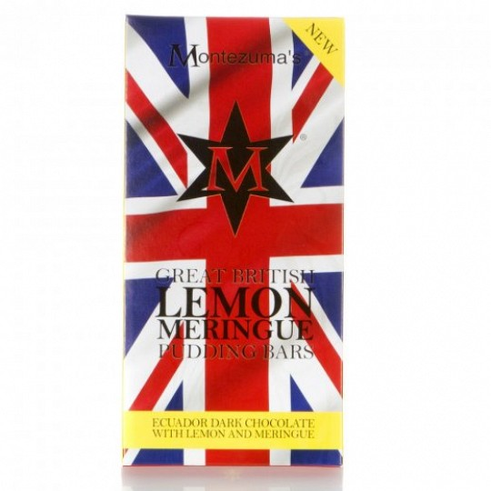 Montezuma's Lemon Meringue Great British Pudding Bar 100g