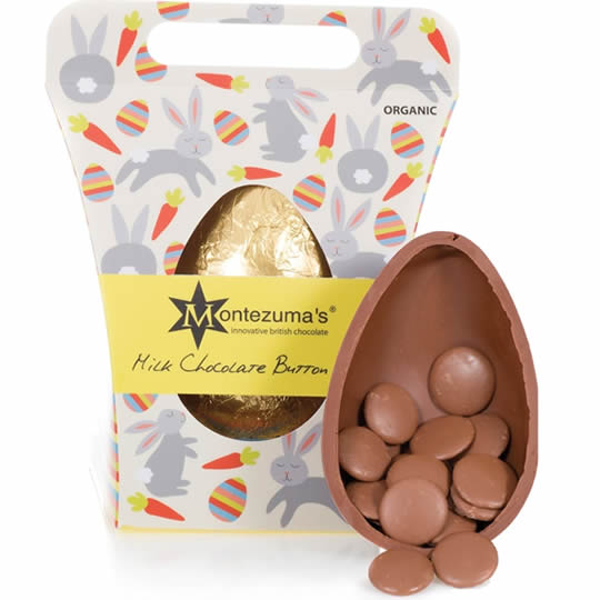 Montezuma's Chocolate Milk Chocolate Button Egg