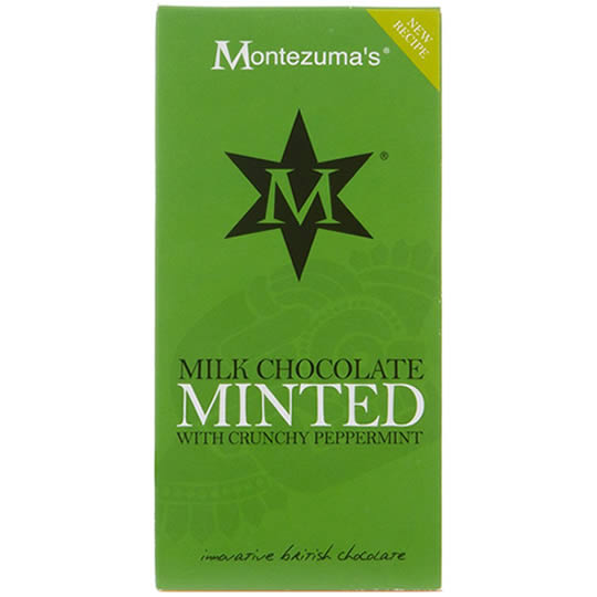 Montezuma's Minted Chocolate Bar